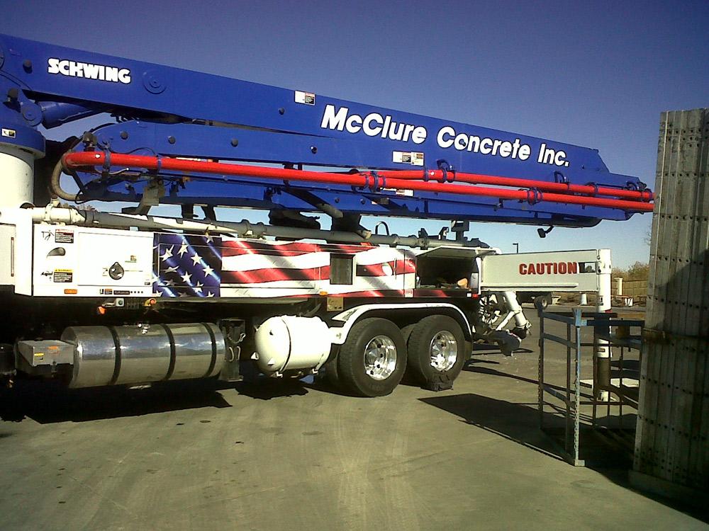 McClure Concrete Inc.
