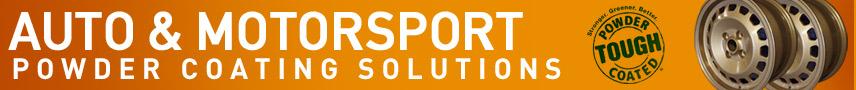 Auto & Motorsport Powder Coating Solutions