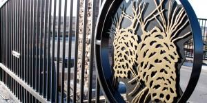 Pine Gate - architectural powder coating